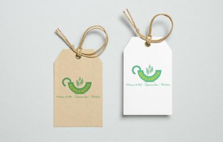 Bergamote Création du logo