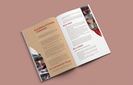 EPHAD Richard Création d'une brochure