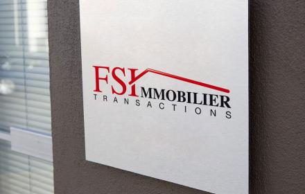 FSI Immobilier Création du logo