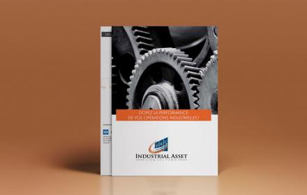 Industrial Asset Consulting Création d'une plaquette