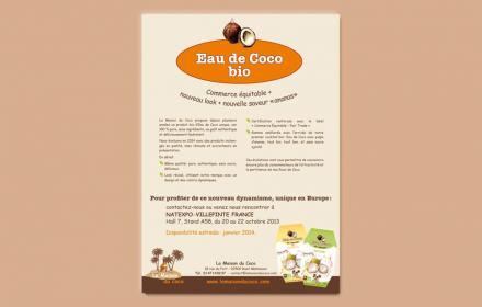 La Maison du Coco Création de packaging