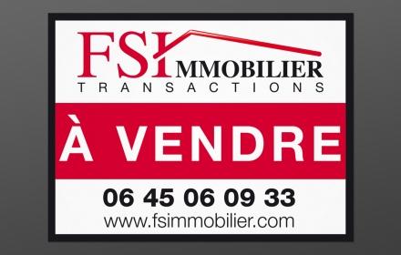 FSI Immobilier Création de panneaux