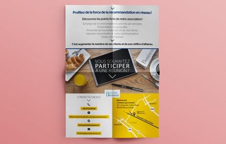 Parisis Business Création d'un flyer