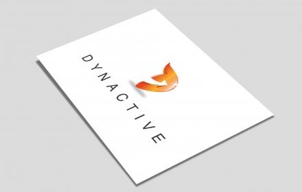 Dynactive Création du logo