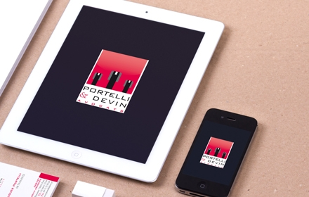 Portelli & Devin Création du logo